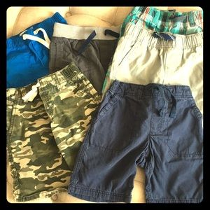 6 Pairs of Little Boys Shorts, Size 5 and 5T